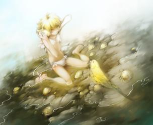 'Shut Up the Yellow Parrot' by shirotsuki