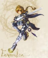 Lady of the Gates by shirotsuki