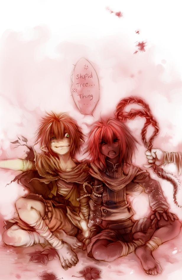 The Last time I Babysat... by shirotsuki
