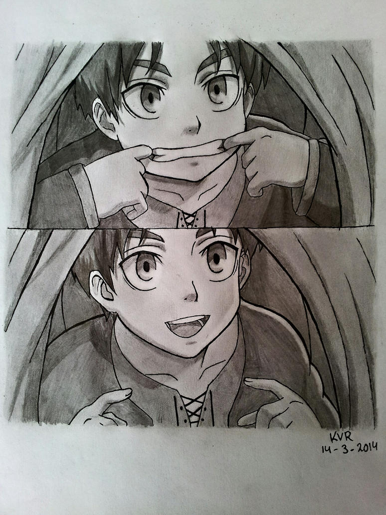 Eren jaeger drawing - photo#32