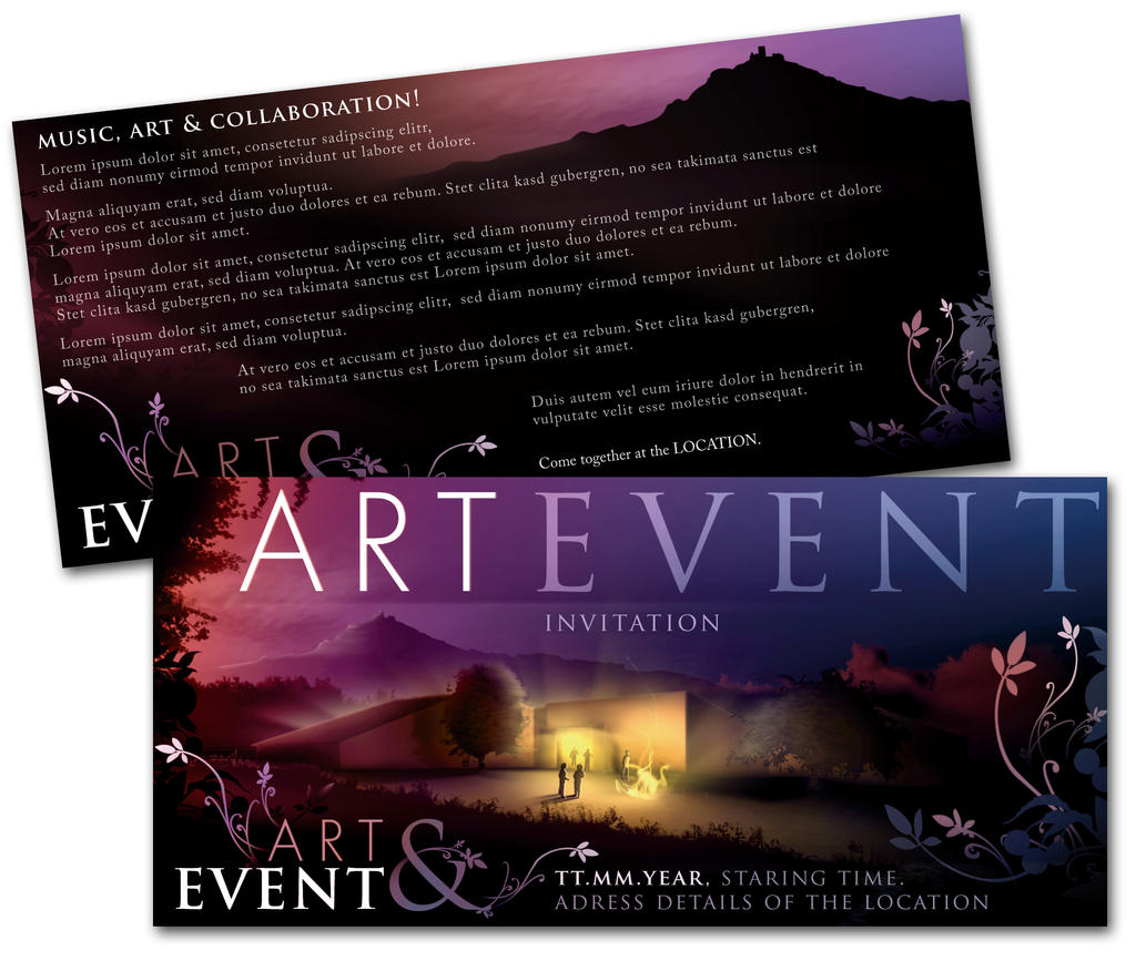 Art event invitation by troody on deviantart art event invitation by troody stopboris Images