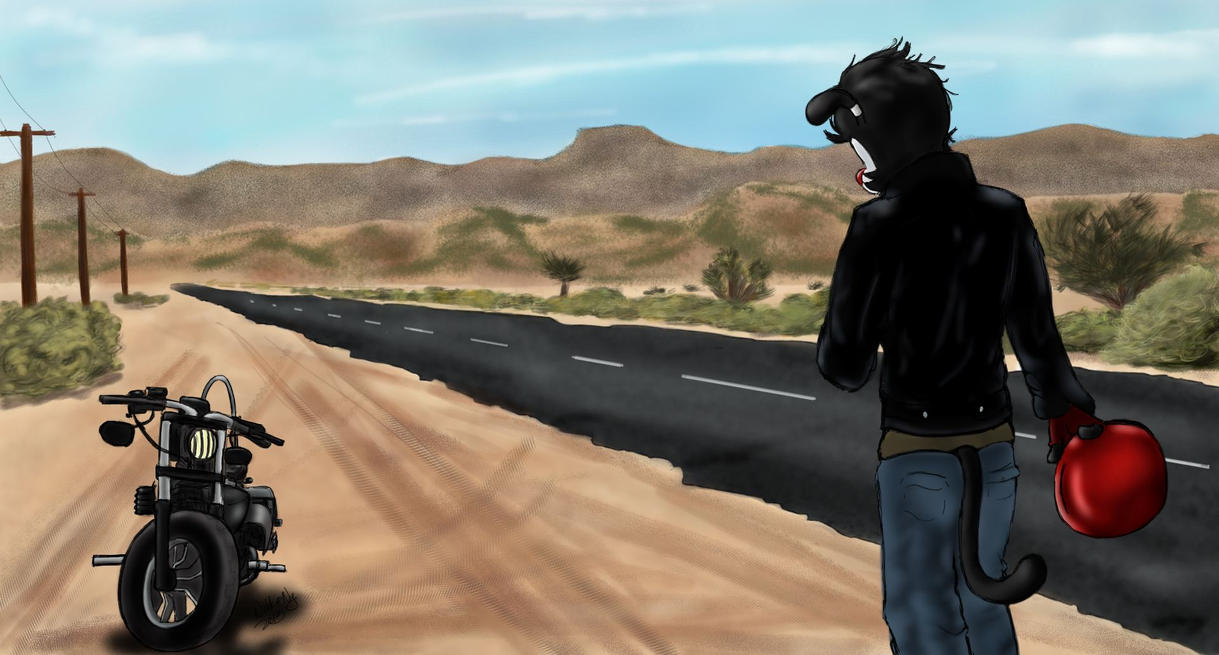 Desert Highway by AyakoOtani