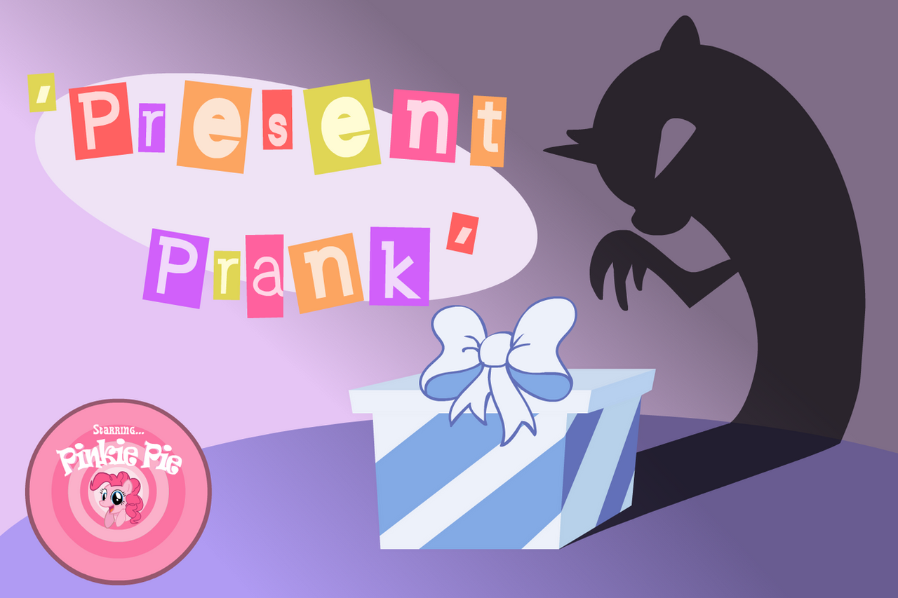 'Present Prank' Title Card by FlamingoRich