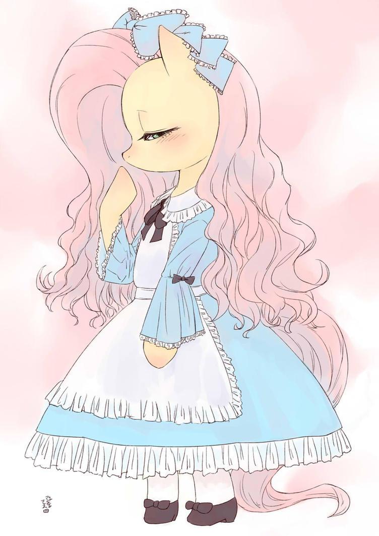 Lolita Fluttershy by Yanamosuda