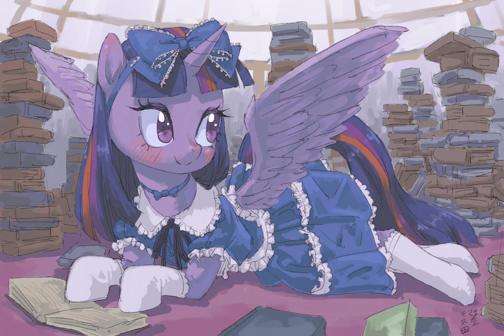 Princess Of Book by Yanamosuda