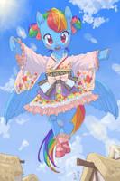 J-Lolita Rainbow Dash by Yanamosuda
