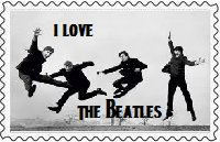 I Love The Beatles Stamp by BeatlesBoy26