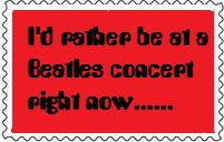 Beatles Concert Stamp by BeatlesBoy26