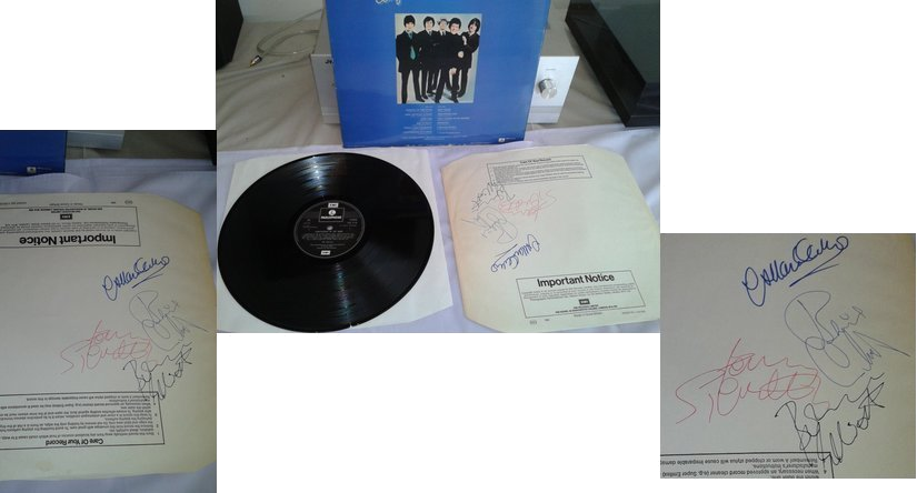 My 1978 Hollies Autographed LP by BeatlesBoy26