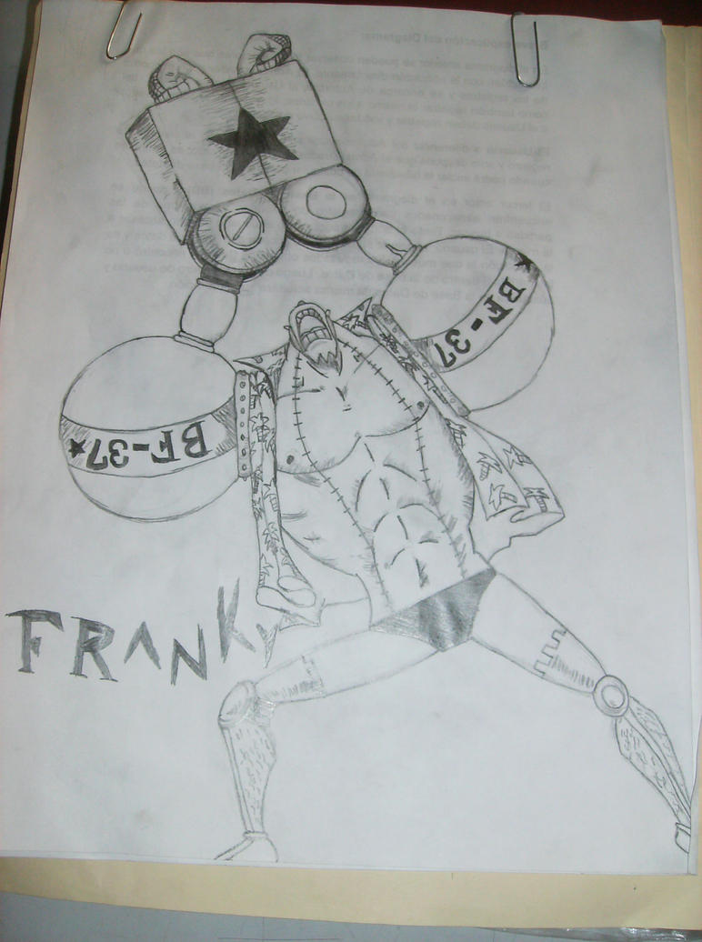 Franky de One Piece 2 years old by GriverNight on DeviantArt