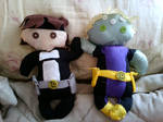Brainiac 5 and Invisible Kid Plush by Eotix