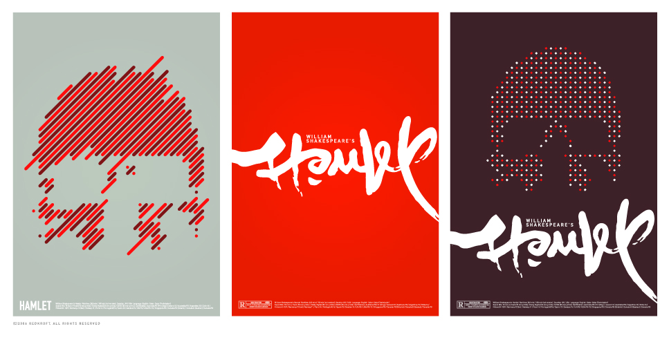 Hamlet posters by Delicious-Daim