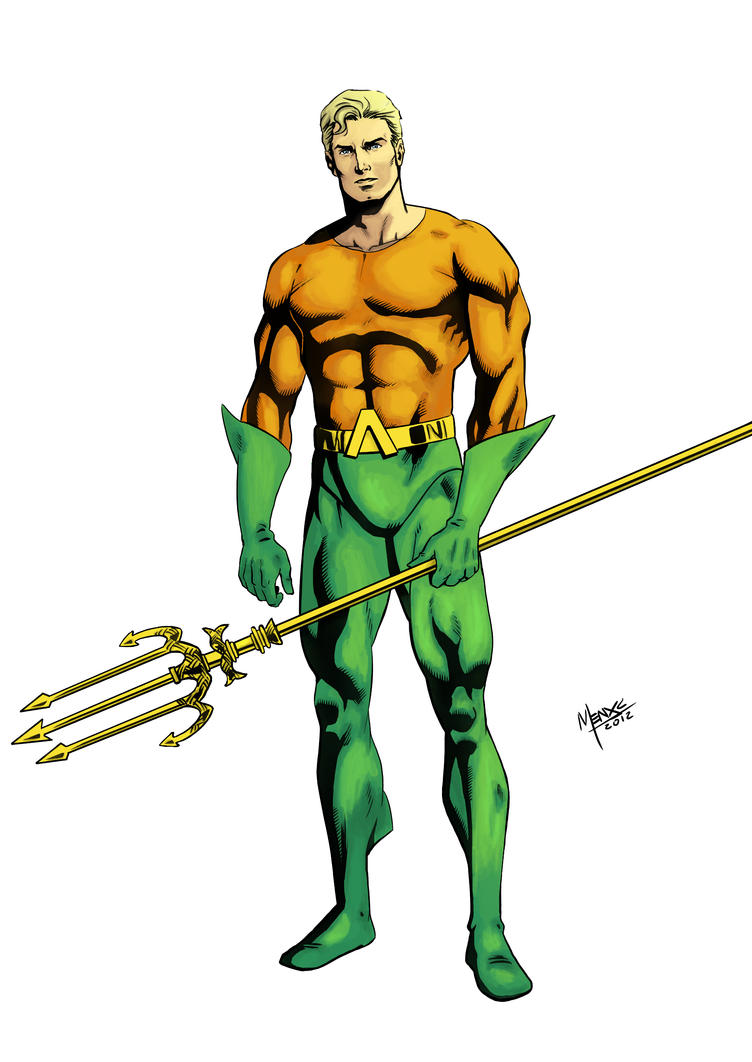 Aquaman By Milaboo On DeviantArt