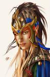 [Hermea] AQUILIFER. Half-elf commander