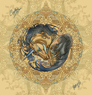 Unicorn into Compass rose
