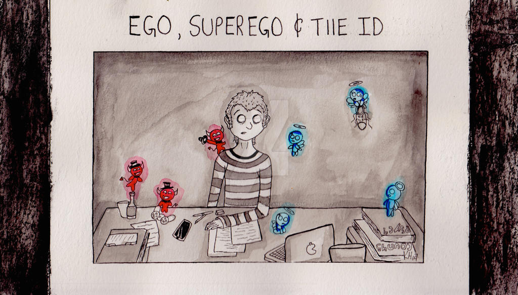 the id ego and super ego According to freud, there are three primary structures or elements of personality  they are the id, ego and superego they reside in the unconscious as forces.