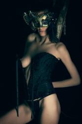 Masked Bandit by photoduality