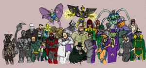 Amalgam's Spiderman Rogues
