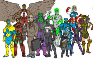 DC + Marvel = Amalgam