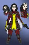 Movie TV Agent Jessica Drew AKA Spider-Woman 2