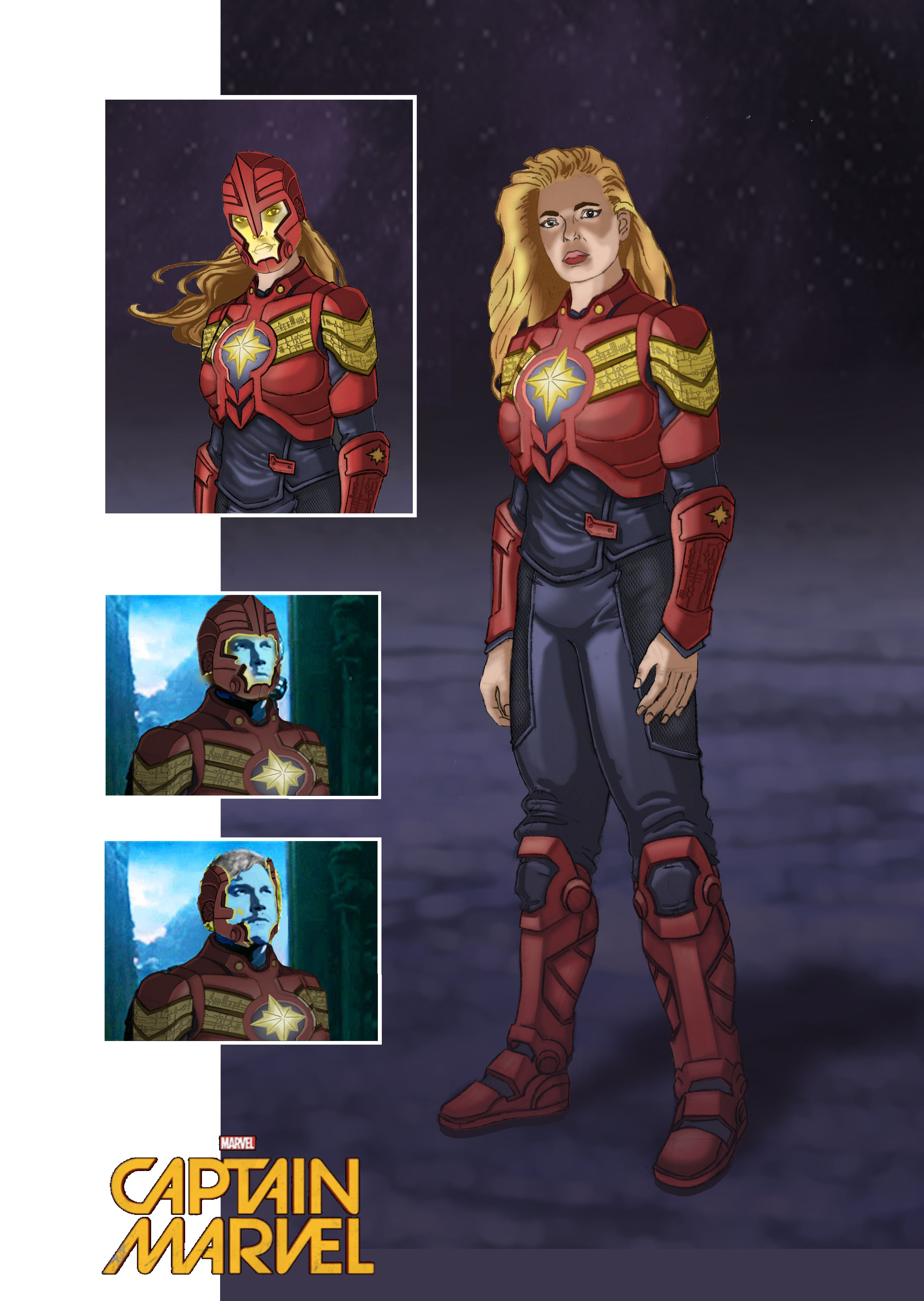 Carol Danvers Captain Marvel Concept Art