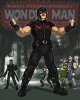 Wonder Man Movie Concept Art WIP by Needham-Comics
