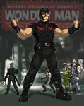 Wonder Man Movie Concept Art WIP