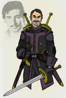 SHIELD's Swordsman, Agent Jacques Duquesne by Needham-Comics