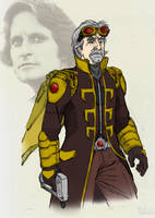 Hank Pym as the Wasp by Needham-Comics