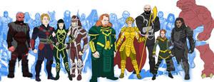 Eternals Marvel Movie Universe Redesigns