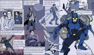 Blue Beetle- CW Series WIP by Needham-Comics