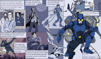 Blue Beetle- CW Series WIP