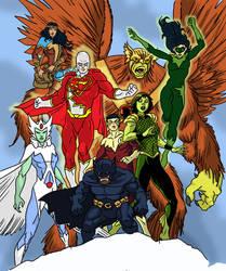 Amalgam-Alpha Flight JLA by Needham-Comics