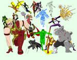 Alll New 52 Amalgam Now Judgement Avengers League