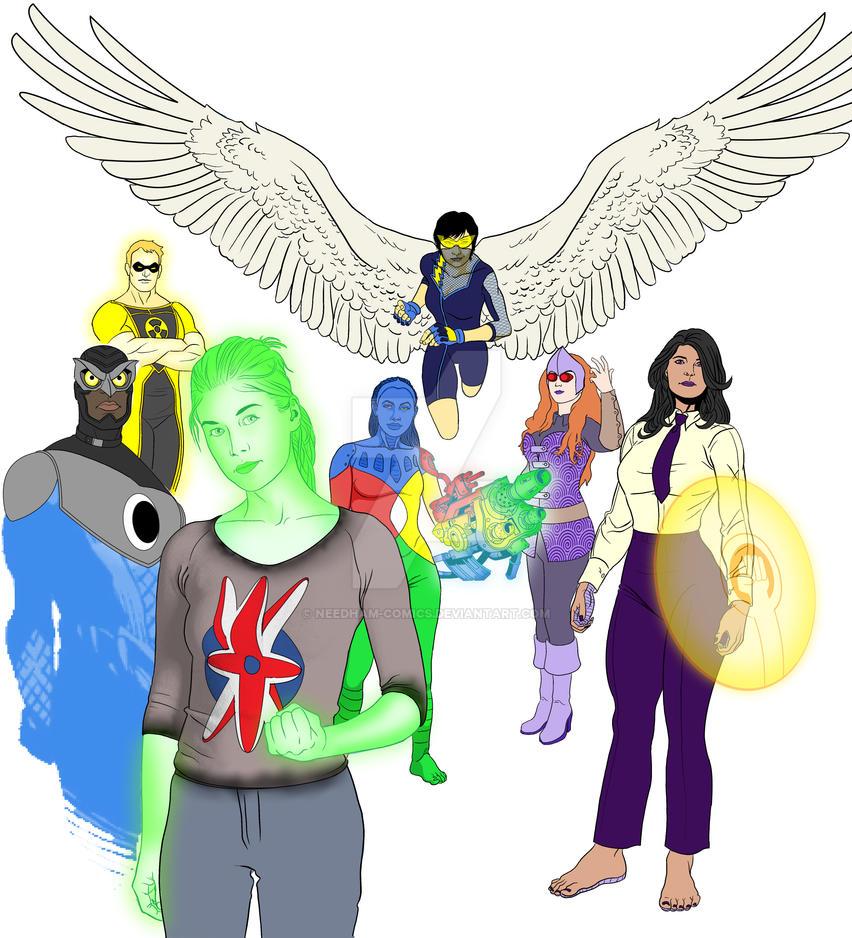 Alll New 52 Amalgam Now Supreme Authority WIP by Needham-Comics