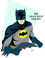 Rip Adam West by Needham-Comics