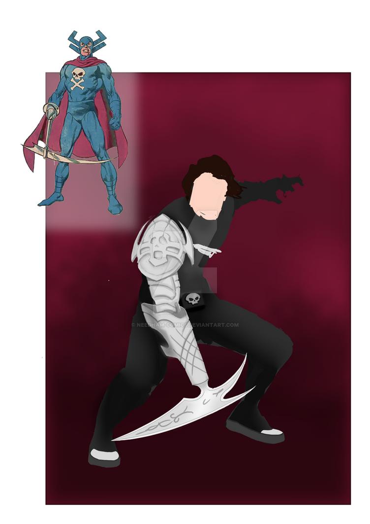 Grim Reaper concept art by Needham-Comics