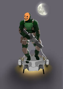 Mcu Jack O' Lantern Concept Wip