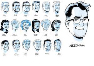 Needham Comics Style Challenge Darwyn Cooke
