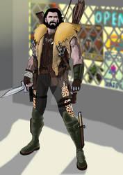 NEEDHAM COMICS' MCU Kraven the Hunter wip