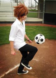 Gakuen BASARA - soccer practice