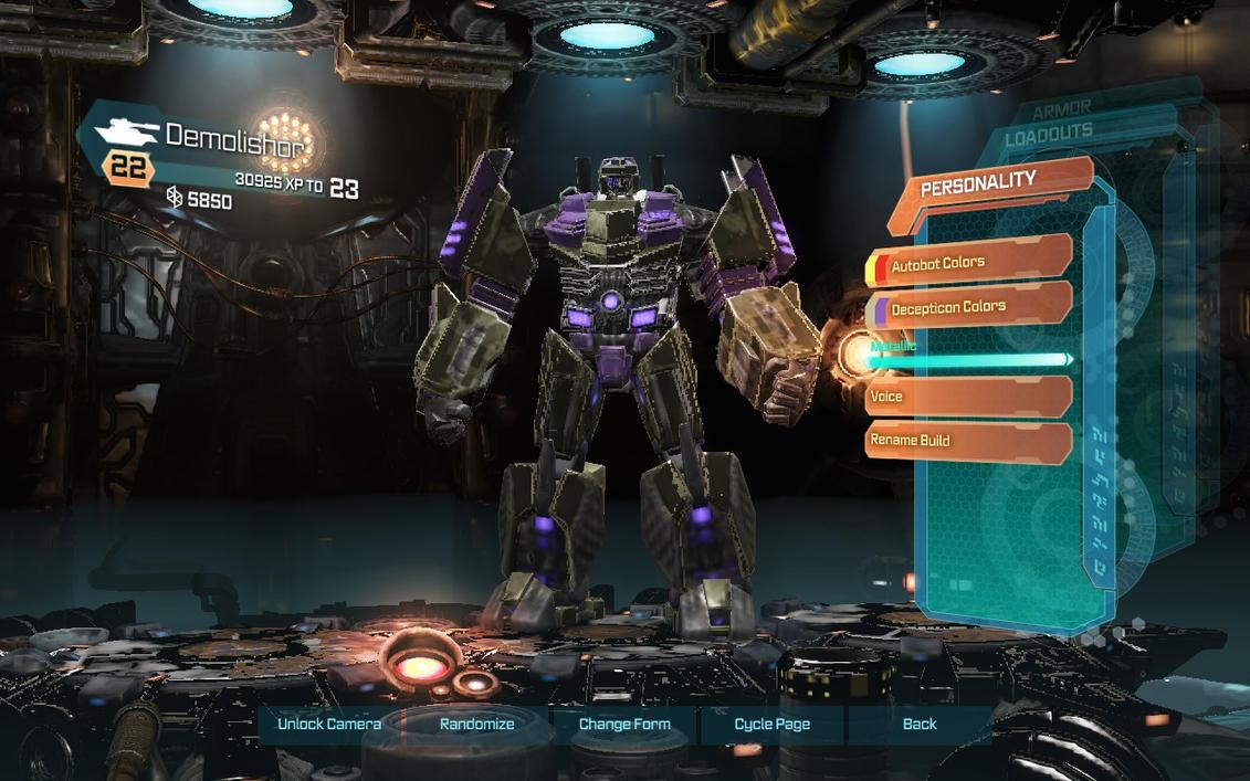Demolishor in Transformers: Fall of Cybertron by Mediziner