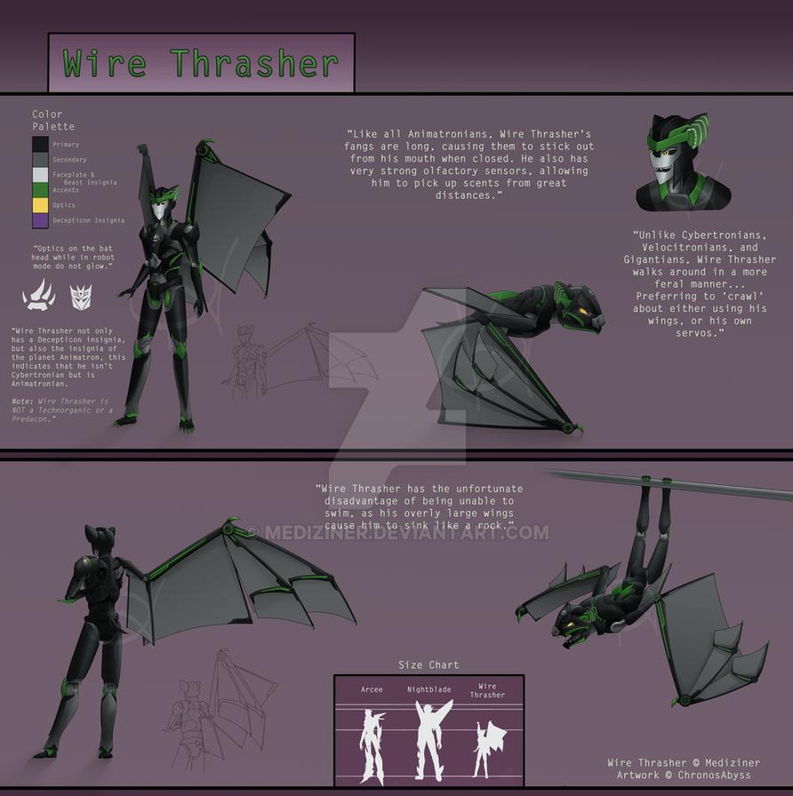 Wire Thrasher (OC) by Mediziner