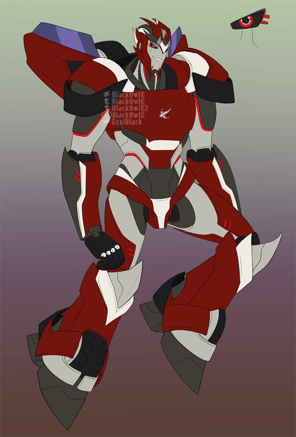 Red Raze (OC) by Mediziner