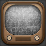 Old TV (App Icon Style)