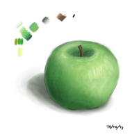 Quick Sketches #1: Apple by FabooGuy