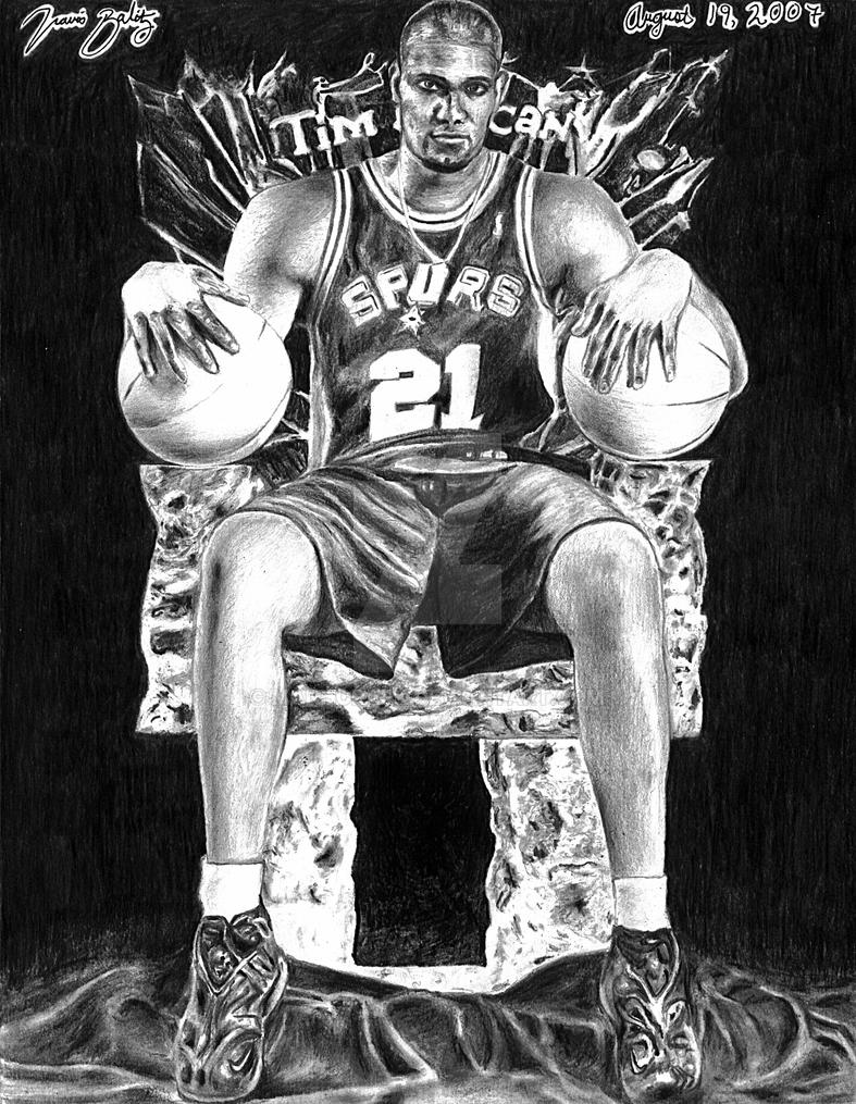 Tim duncan by manhopark on deviantart - Tim duncan iphone wallpaper ...