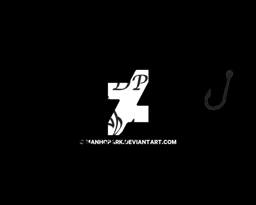 DPFishing Logo + Graphic 2 [BW] by ManHoPark