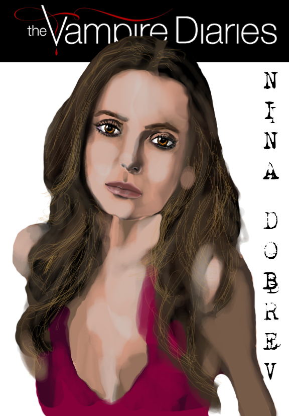 Vampire Diaries -  Nna Dobrev - Elena by ManHoPark