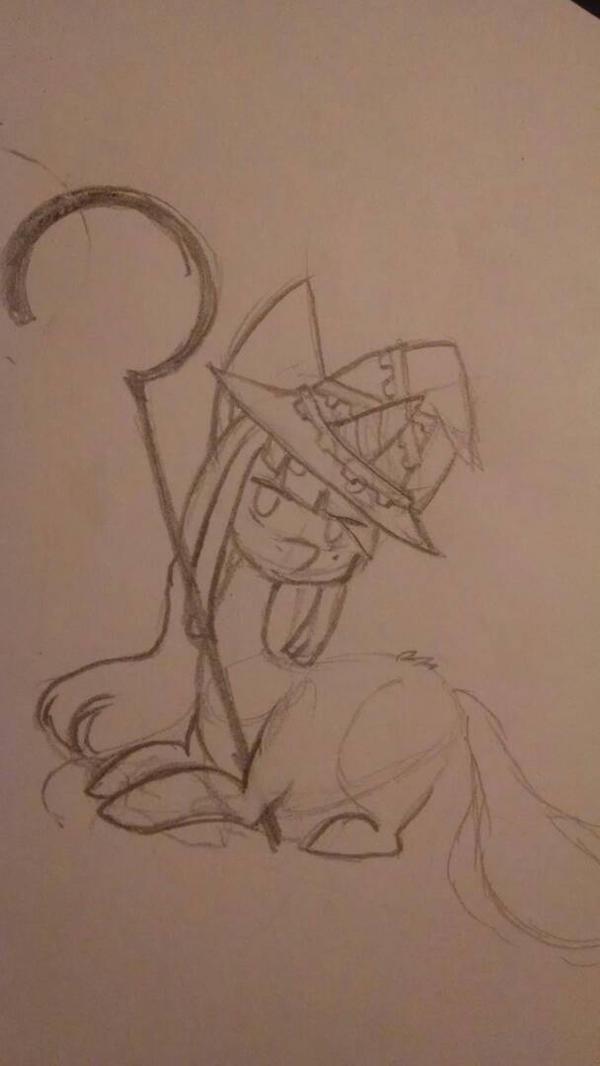 mlp MAGES. Sketch by PastelKatt